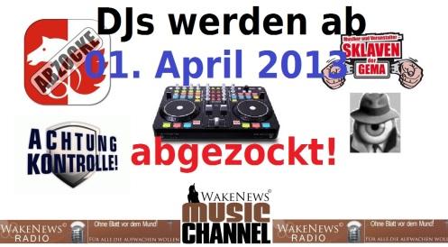 DJs werden abgezockt und ausspionoert
