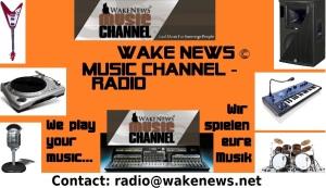 Neuer Wake News Music Channel Radiosender eng