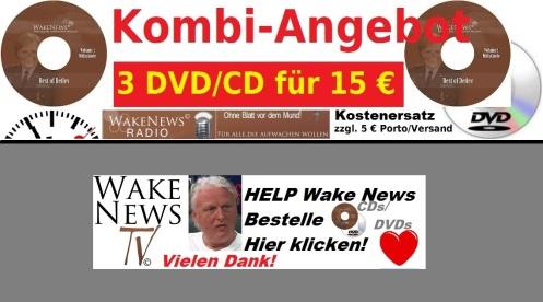 Bestelle Kostenersatz DVD CD