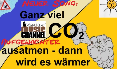 Ganz viel CO2 ausatmen - dann wird es wärmer