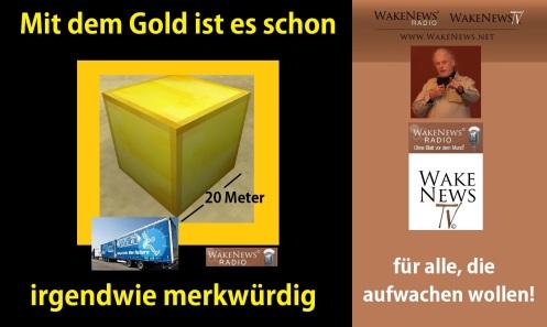 Mit dem Gold ist es schon irgendwie merkwürdig