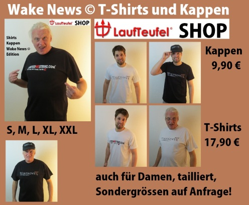 Wake News T-Shirts und Kappen