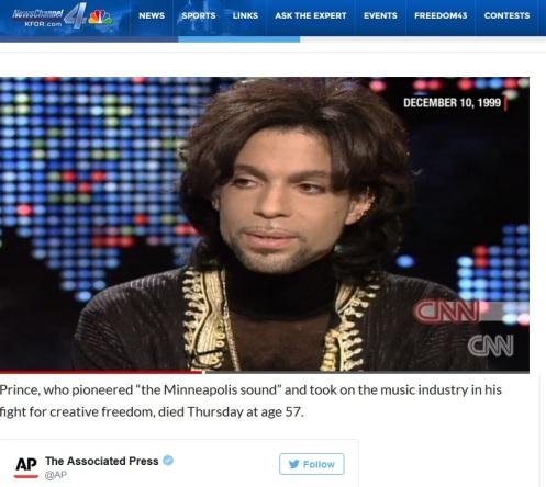 Prince Died At 57
