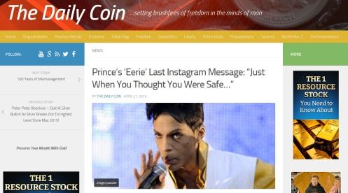 Prince Tweet